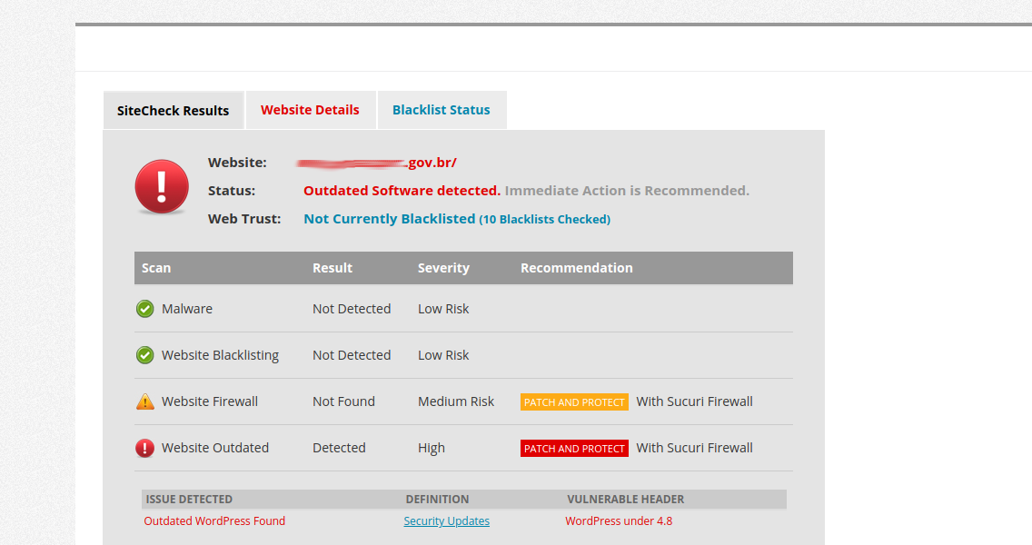 19 WordPress Vulnerability Scanners Online for Malware and